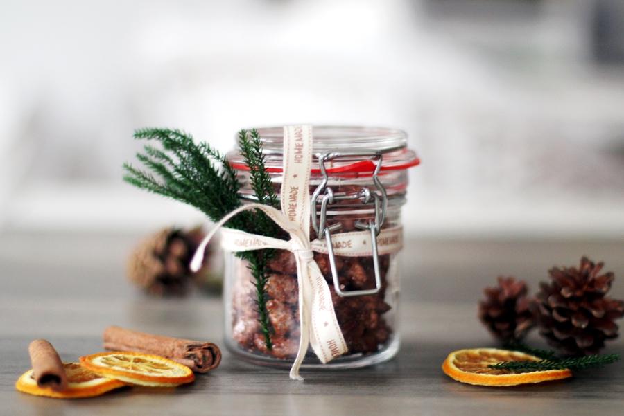 Last Minute DIY Weihnachtsgeschenk: Gebrannte Mandeln