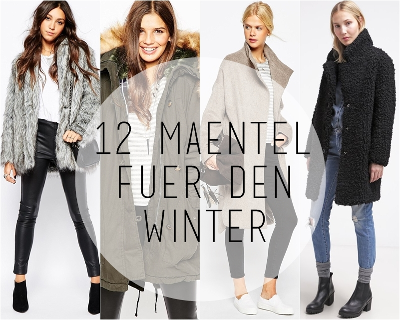 12 warme Mäntel für den Winter