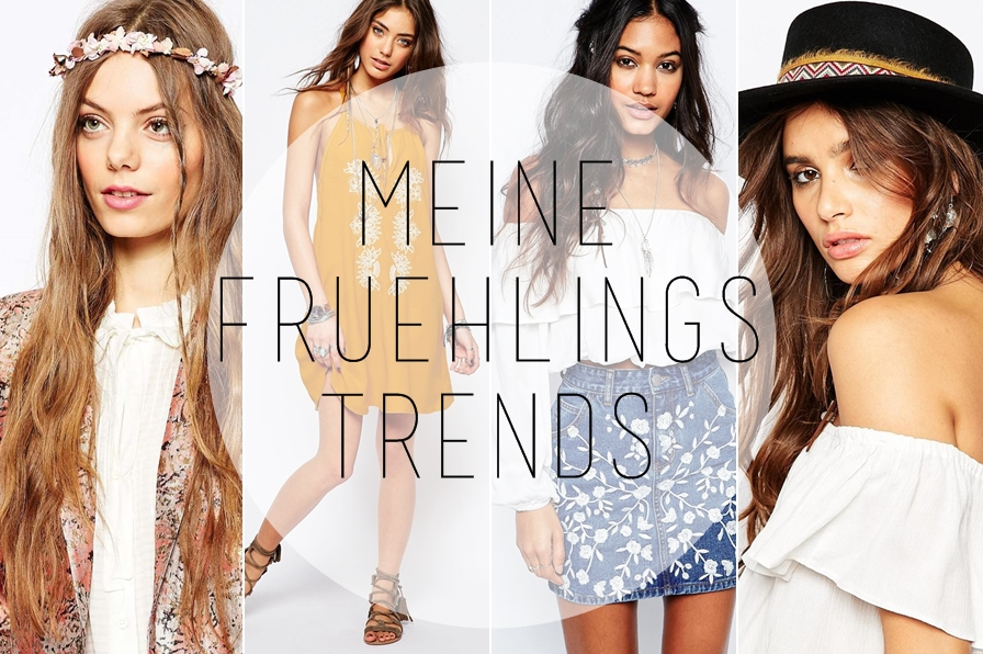 Meine TOP 5 Modetrends für den Frühling