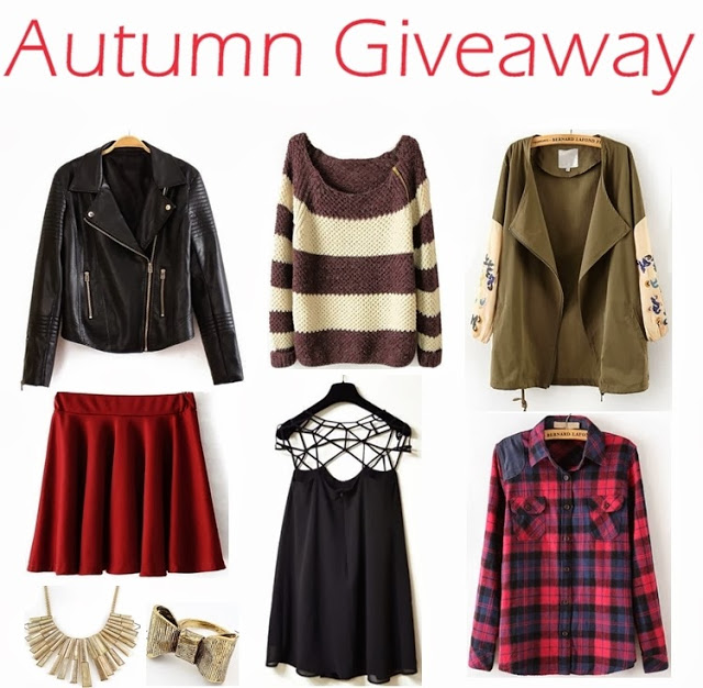 Autumn Giveaway: $150 Sheinside voucher