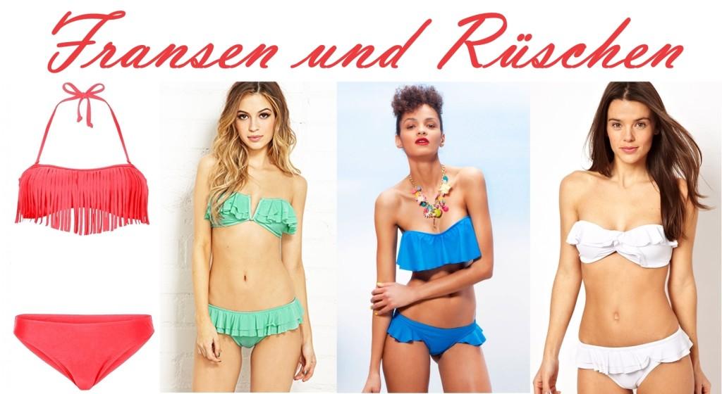 Bikinitrends 2014: Unsere Favoriten