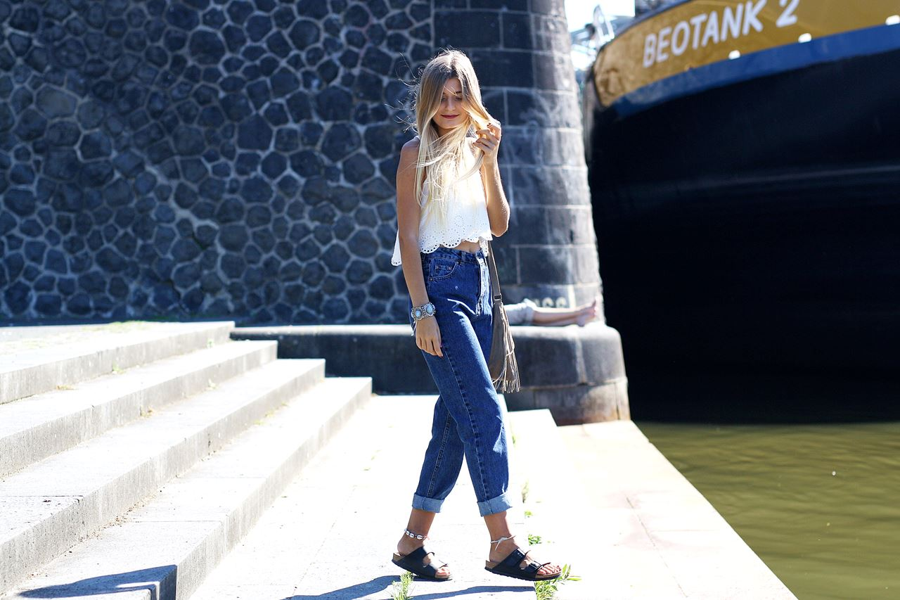 Outfit: Mom Jeans