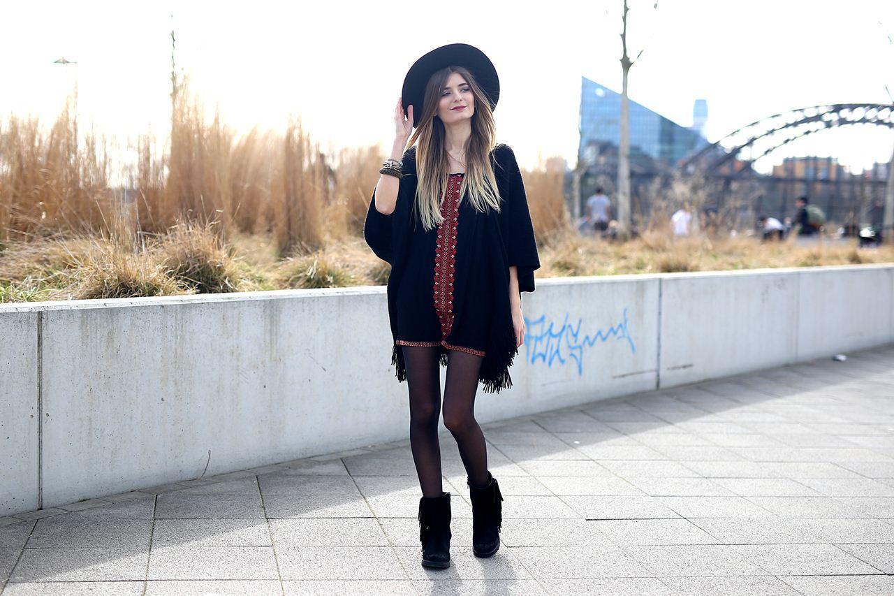 Outfit: Boho Poncho