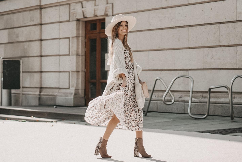 Styling Guide: Mit diesen Tipps könnt ihr eure Kleider auch im Herbst tragen